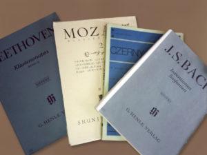 クラッシク音楽の楽譜